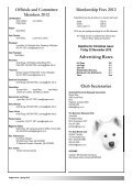 Sleigh Courier Spring 2012 (pdf 5.8MB) - The Samoyed Club ... - Page 2