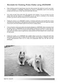 Sleigh Courier Spring 2012 (pdf 5.8MB) - The Samoyed Club ... - Page 4
