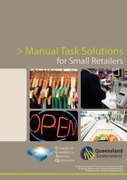 Manual task solutions for small retailers (PDF, 1.17