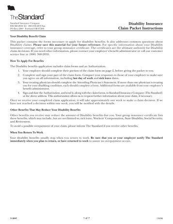Unum Short Term Disability Claim Form