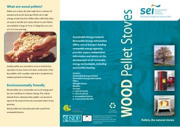 Wood Pellet Stoves - the Sustainable Energy Authority of Ireland