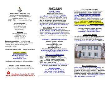 To see the instalation program damascus masonic lodge no 290 trestleboard midlothian masonic lodge no 211 pronofoot35fo Images