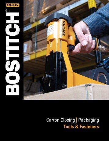 Bostitch Carton Closing Brochure