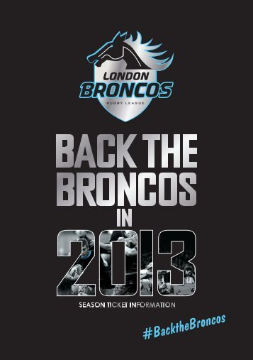 download the season ticket PDF - London Broncos Rugby League