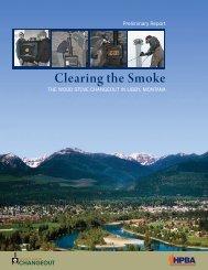 Clearing the Smoke - HPBA's Wood Stove Changeout Program