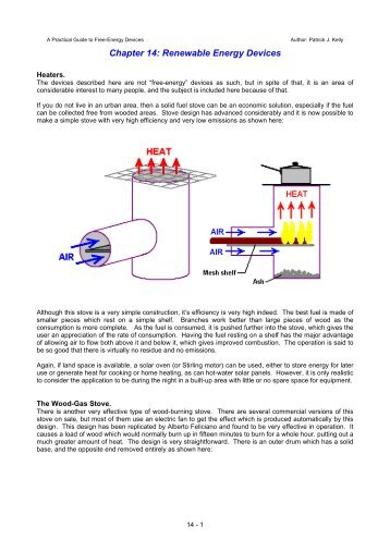 Chapter 14 - Free-Energy Devices
