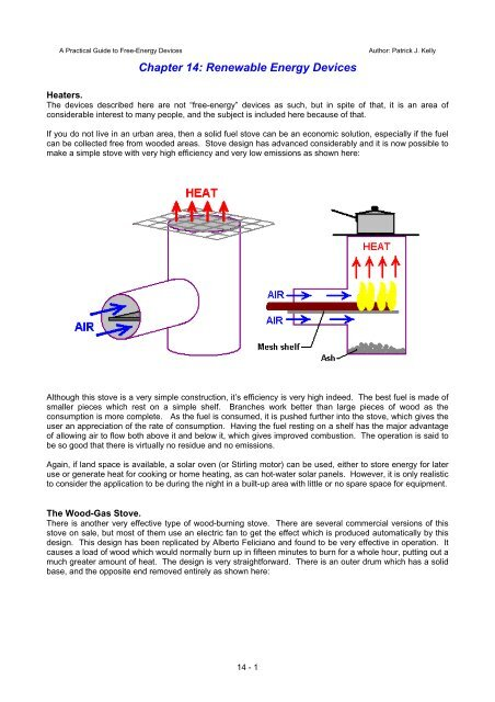 Free Energy Devices >> Chapter 14 Free Energy Devices