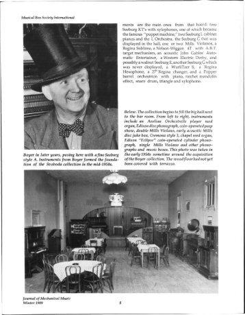 Svoboda's Nickelodeon Tavern Pt. 2.pdf - Musical Box Society ...
