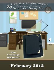 New Downloadable February 2012 Catalog - Stoops Manufacturing
