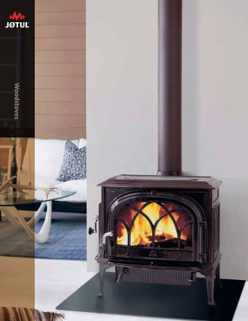Woodstoves - Jøtul stoves and fireplaces