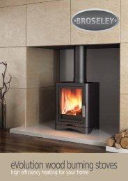 eVolution wood burning stoves - Broseley Fires