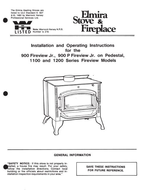 fireview appliance manual