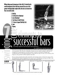 7 Core Elements to Successful Bars - USA Gymnastics