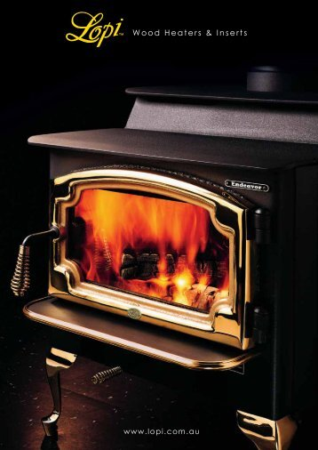 Wood Heaters & Inserts - Lopi Fireplaces Australia