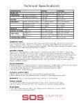 Folding Portable Hyperbaric Stretcher & Treatment ... - Casco Antiguo - Page 6