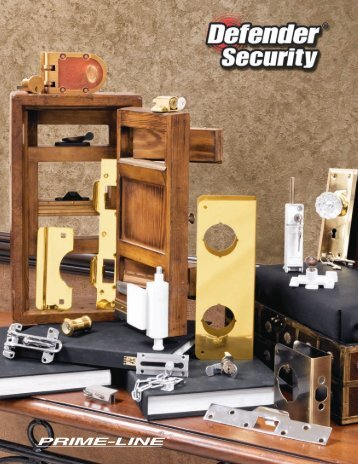 Patio Door Lock - Defender Security