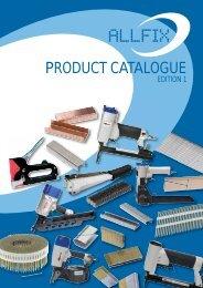 PRODUCT CATALOGUE - Allfix Imports