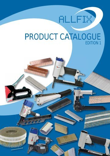 PRODUCT CATALOGUE - Allfix Imports