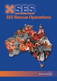 ses training resource kit - Government Skills Australia
