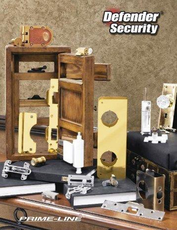 Defender Catalog - Prime-Line Products