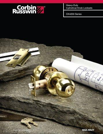 CK4200 Series - Corbin Russwin Products