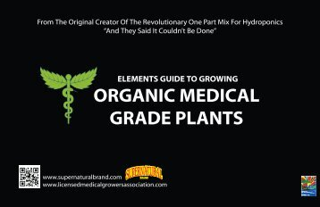 ORGANIC MEDICAL GRADE PLANTS - Supernatural Brand