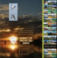 AGENCY OF PROTECTED AREAS