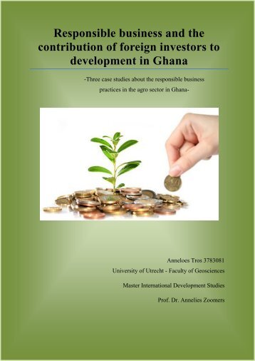 Responsible business and the contribution of foreign investors - Igitur
