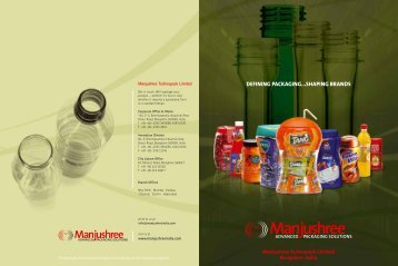 Corporate - MANJUSHREE - Advance Packaging Solutions