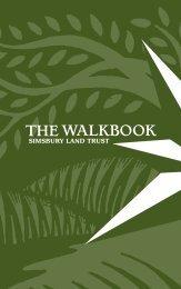 The Walkbook - Simsbury Land Trust
