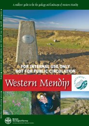 Western Mendip - Sustainable Aggregates