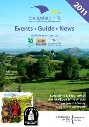 Events • Guide • News - South Shropshire