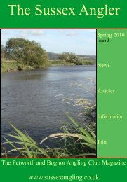 pet bog magazine 3rd issue 10-2-10 - Petworth and Bognor Angling ...