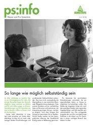 Editorial - bei Pro Senectute Schweiz