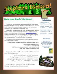 2011 Things to See and Do at Itasca - Minnesota Department of ...