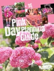 Pink Day Planning Guide - Invincibelle Spirit Hydrangea