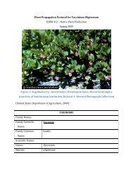 Draft Plant Propagation Protocol