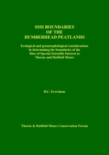 free download - Thorne & Hatfield Conservation Forum