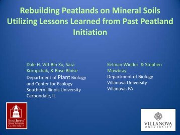 PowerPoint Presentation - Slide 1 - PeatNet - Southern Illinois ...