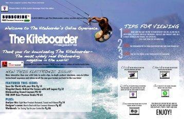 October 2008 - The Kiteboarder Magazine
