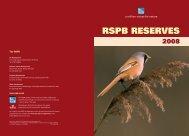 RSPB Reserves 2008