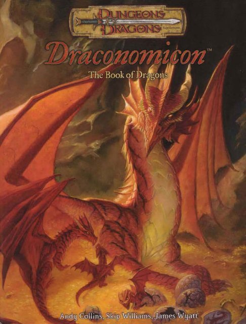 Draconomicon, The Book of Dragons