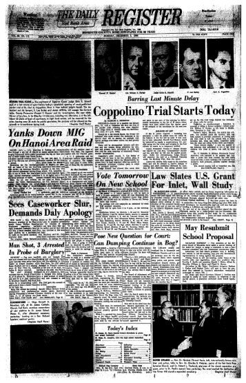 Coppolino Trial Starts Today - Red Bank Register Archive