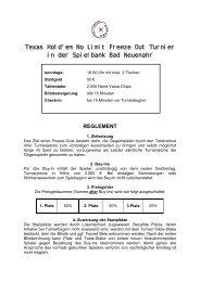 Reglement (pdf) - Spielbank Bad Neuenahr