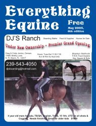 May 2005, - Everything Equine