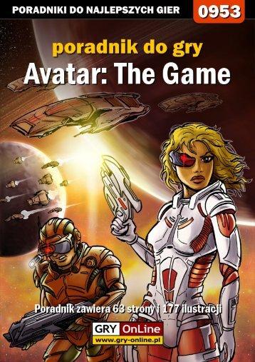 Poradnik GRY-OnLine do gry Avatar: The Game - Podaj dalej!