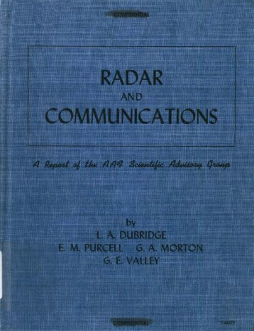 radar and communications - Government Attic