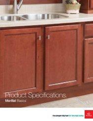 Product Specifications. - Merillat