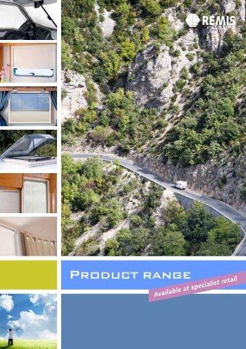Download Product range - REMIS