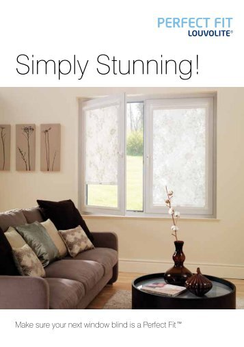 Simply Stunning! - Louvolite Window Blinds